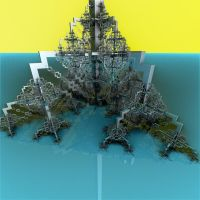 Lookout Tower Sector YellowSky BlueTerrain by CO99A5