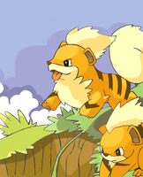 Growlithe by riddley94