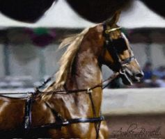 Saddlebred by kittykitty5150