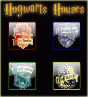 Hogwarts Houses by mohammad-khalid