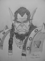 Thrall Sketch by Saint0703