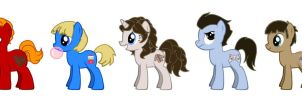MLP Charlie Chocolate Factory Kids by kaoshoneybun