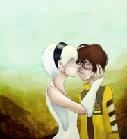 WALL-E: Adorkable by schellibie