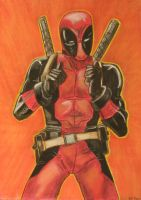 DEADPOOL by clare13