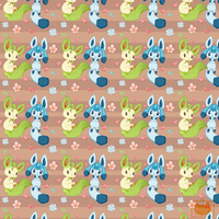 Leafeon and Glaceon Pattern by Ambercatlucky2