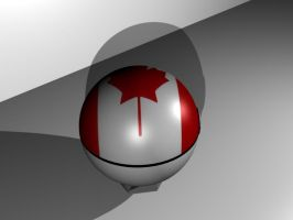 Canadian pokeball 2 by TheTimeLordMarshal