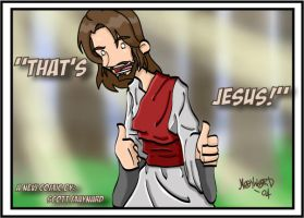 That's Jesus by hezakiah