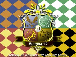 Hogwarts Crest by ajb3art