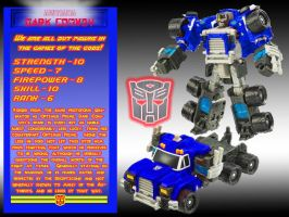 Dark Convoy Character Specs by LittleBigDave