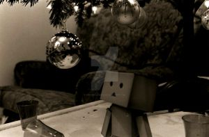 Danbo and the Tree by BadgerJames