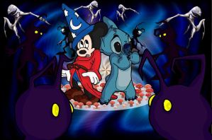 A Stitch In Time: Fantasia 626 by andy-pants