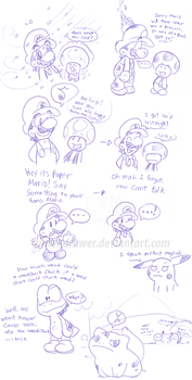 doodle thing 2 by Nintendrawer