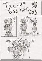 Izuru's Bad Hair Day Page 1 by Mariksgirlfriend13