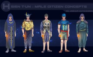 Hsien T'un - man concepts by JoshHutchinson