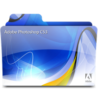 Adobe Photoshop CS3 Folder by morillon89