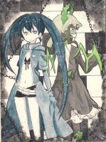 Black Rock Shooter 2012 ver by Kachanx23