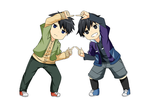 Fusion brothers by Kyoukouo
