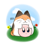 Kirby And Nago by RANDOM-drawer357