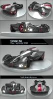 Concept Car by PixelPirate