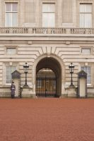 Buckingham Palace Gate 2 by Sheiabah-Stock