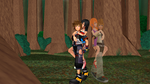 Sora And Me In Woods My Nobody And Roxas by kari5
