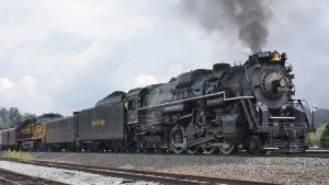 NKP 765 (2012): Cresson Departure by jgallaway81