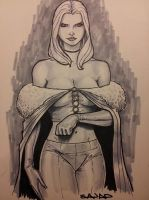 EMMA FROST using COPIC by Sajad126