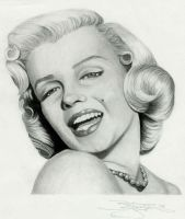 marilyn monroe by beckhanson