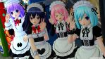 Kawaii Maid Cafe Girls!^^ by xSakuyaChan510x