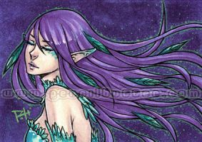 aceo - nightingale by demon-rae