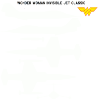 Wonder Woman Invisible jet classic by bagera3005