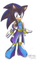 Shallow the hedgehog-Last night,good night outfit by sonicartist16