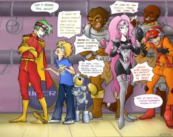 Bucky O'Hare - A Good Reason by pikapikashuichi