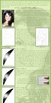 Tutorial: how to draw hair? by Ilojleen