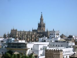 Seville view by Alcyone07