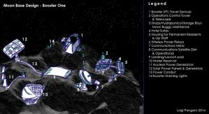Moon Base Design - Booster One by squidge16