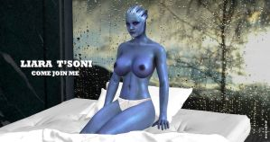 Liara T'Soni   COME JOIN ME    3-22-2015 by blw7920