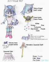 Michelle the Raccoon Reference by PhoenixManX-XL