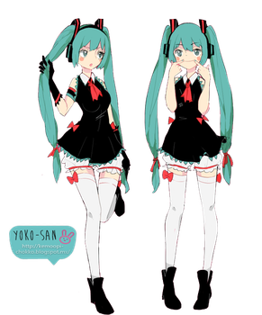 Mikus by Momo-Honey