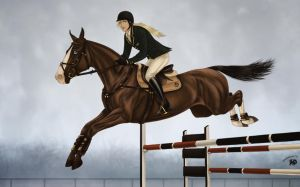 Windcrest Acres Annual Horse Show | Show Jumping by Zoubstance