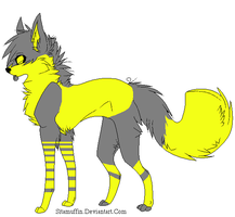 Lightning Dog .:OPEN:. by love-the-adopts