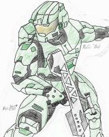 Master Chief by Peacemaker636