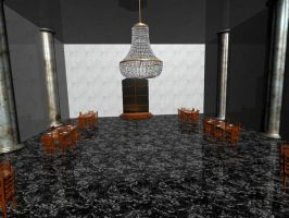 Dining Room Scene Finsihed by Intangibull