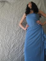 Blue Dress 11 by aceoni-koronue-stock
