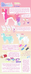 Diaura species sheet by MissingBlue