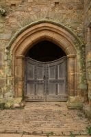 Castle Gates by NickiStock