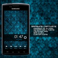 Samsung Captivate by yuushaART