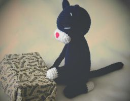 Hungry Cat 1 by hellohappycrafts