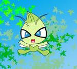 play with Celebi by efilthesquirrel