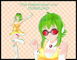 Tda Equation Megpoid Gumi v1.00 by Avant-Garde3D